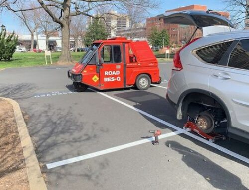 Flat Tire Changes in Mount Vernon Virginia