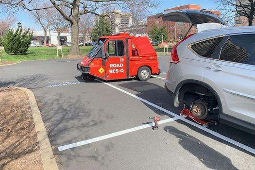Flat Tire Changes-in-Mount Vernon-Virginia