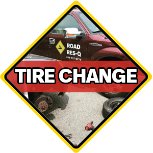 Tire Change Service - Roadside Assistance